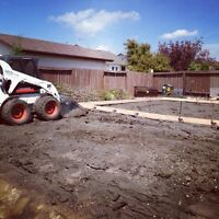 Skilled Bobcat Services *Grading, piles, fence posts, etc*