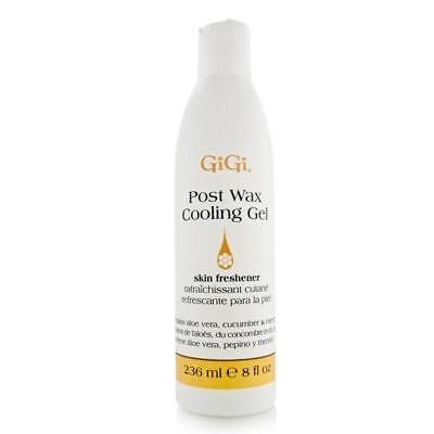 GiGi After Wax Cooling Gel with Menthol 236ml/8oz Brand New (After Waxing Gel)
