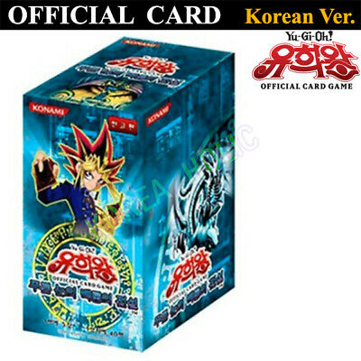 YuGiOh Cards Legend of Blue Eyes White Booster Box Korea Ver. OFFICIAL CARD GAME