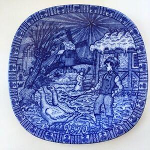 JULEN Rorstrand 1970 collectible/collector blue plate Sweden