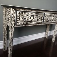 One of a kind console table