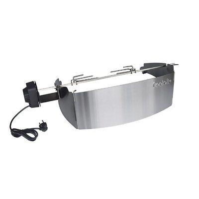 Cook>it® 90178 Drehspieß für Weber Gasgrill Q300/320 - Q3000/Q3200 Serie