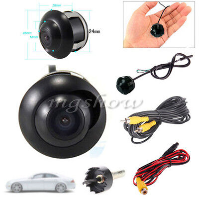 UK Mini 360° CCD HD Car Front Side Rear View Parking Reverse Camera Night Vision