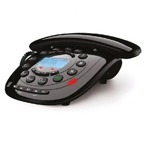IDECT CARRERA CLASSIC PLUS CORDED DECT PHONE ANSWER MACHINE - LCD DISPLAY