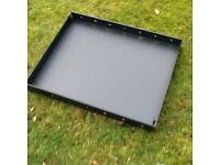 8 Powder coated steel shelving units for van / shed / garage