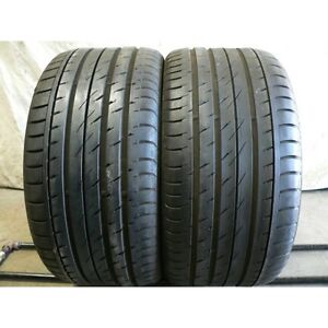 275/45R20  Set of 2 Continental  Used FREE Inst.&Bal.70%tread