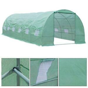 26.2 x10 x 6.7 Large Walk in Tunnel Greenhouse Garden Steel Frame Brand New in box direct form factory