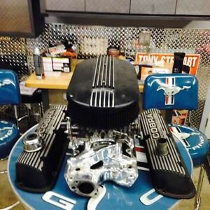 Sbf dual quad intakes and carbs
