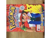 Pokemon original complete sticker book