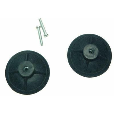 "3"" Black Replacement Roof Rack Suction Cups 01704"