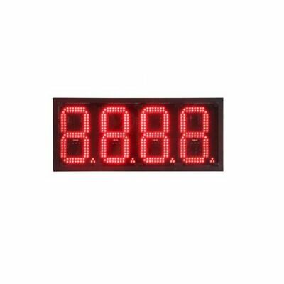 6 Led Motel Price Sign Gas Station Electronic Fuel Price Sign Red Color