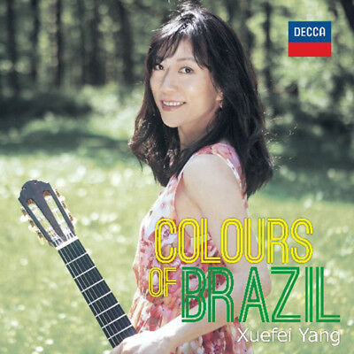 XUEFEI YANG - COLOURS OF BRAZIL 1CD BRAND NEW SEALED