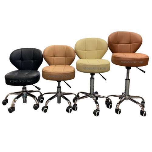 Brand New Spa Pedicure Chair Stool BLACK/ SAND/CAPPUCCINO/LIGHT BROWN Nail Salon
