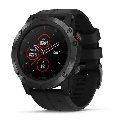 Garmin Fenix 5X Plus Sapphire GPS Smart Multisport Watch Black / Black