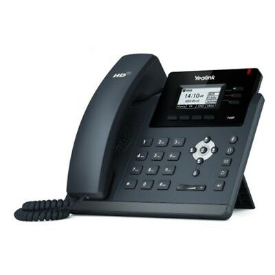 Yealink Sip-t40g Ultra-elegant Gigabit Ip Phone 3 Lines Hd Voice Poe