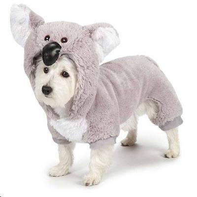 Large Koala Bear Dog Halloween Costume Poodle Spaniel Soft & Plush Zack&Zoey - Halloween Bear Dog