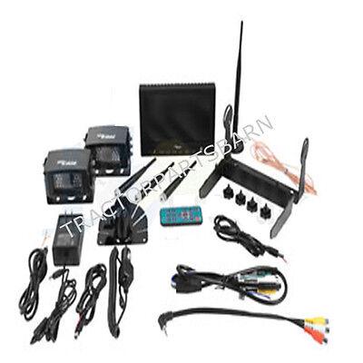 CabCAM VIDEO SYSTEM WIRELESS MONITOR 2 CAMERAS WL56MC2