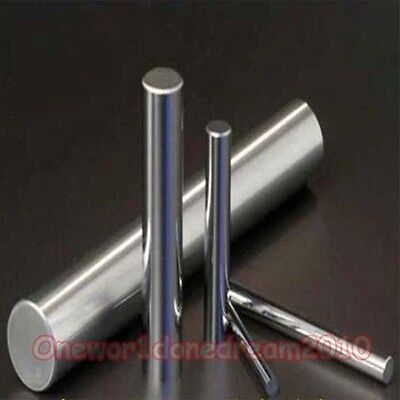 99.9999 Purity Pure Tungsten W Solid Round Rod Bar Diameter 2.5mm Length 150mm