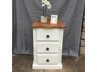 Small shabby chic chest of drawers
