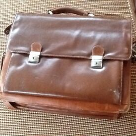 Lovely leather briefcase