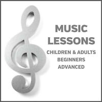Private Music Lessons for Beginners & Advanced Students