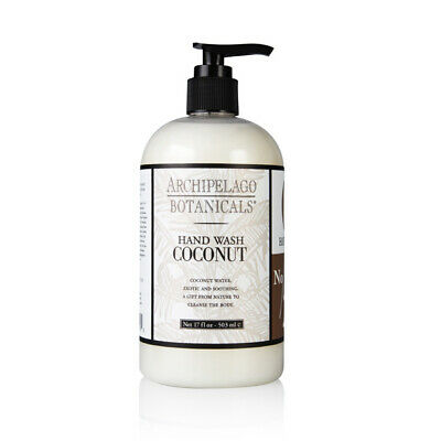 Hand Wash Coconut - Archipelago Coconut Hand Wash 503ml/17oz Brand New