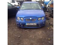 Breaking mg zt rover 75 1.8 turbo