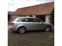 Audi A4 Avant Estate 56 plate Silver