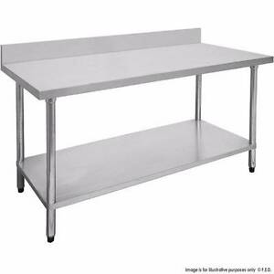 Commercial 0300-7-WBB Economic 304 Grade Stainless Steel Table wi Melbourne CBD Melbourne City Preview