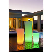 LED PLANT POTS RGB IP68 MEDIUM