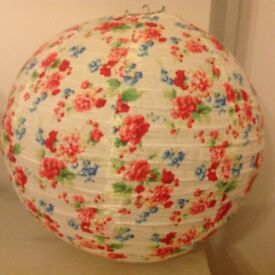 Cotton Cath Kidson Style Cotton Lampshade
