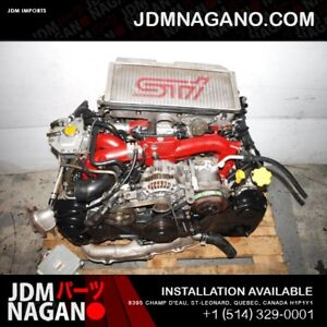JDM EJ207 V7 STI TURBO ENGINE MOTOR FOR SALE EJ207 ENGINE SINGLE