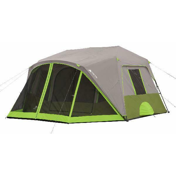Ozark Trail 9 Person 2 Room Instant Cabin Tent With Screen R
