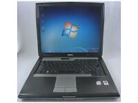 DELL LATITUDE D530 LAPTOP INTEL CORE 2 DUO 2GHZ 80GB 2GB WIN 7