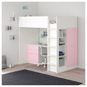 IKEA Stuva / Fritids Loft Bed with Desk and 3 Drawers