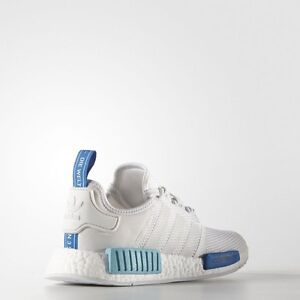 "WANTED: ADIDAS NMD WHITE/BLUE GLOW ""SAO PAOLO"" SZ 8.5/9"