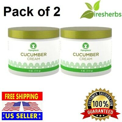 CUCUMBER CREAM Natural Face Moisturizer Nourishing Younger Look Skin Care 8 oz