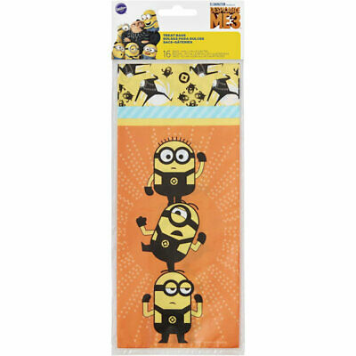 Despicable Me 3 Minions Treat Bags 16 ct.](Despicable Me Treat Bags)