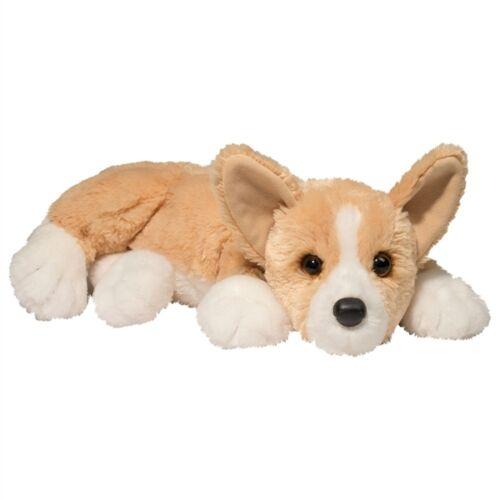 "Douglas RUDY CORGI Plush Toy Dog Stuffed Animal 13"" Puppy Soft Lying Floppy NEW"