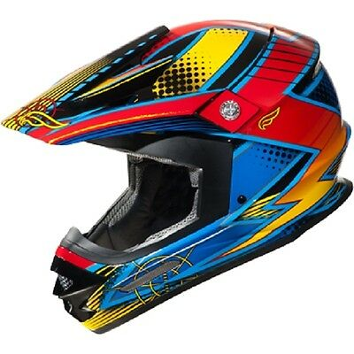 Fulmer AF RX4 Wild Strike Off Road MX Dirt Helmet size Adult XLarge