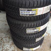 4 pneus d'hiver 225/50/17 blizzak