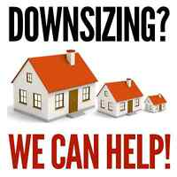 Downsizing? We Can Help!