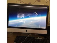 APPLE IMAC 27 MID 2010 EXCELLENT CONDITION 2.93 GHZ I7 1TB HD 8 GB RAM SOLD