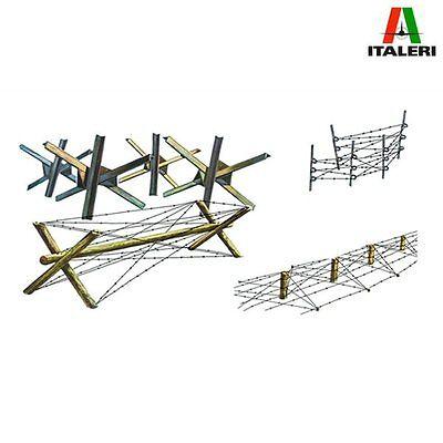 Italeri 0401 Barricades for Diorama 1/35 plastic scale model kit