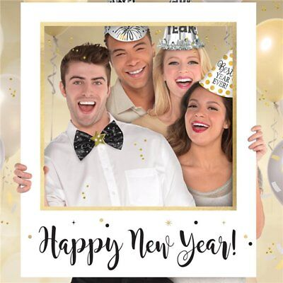 ie Giant Plastic Photo Frame Photo Booth Party Prop  (New Years Frames)