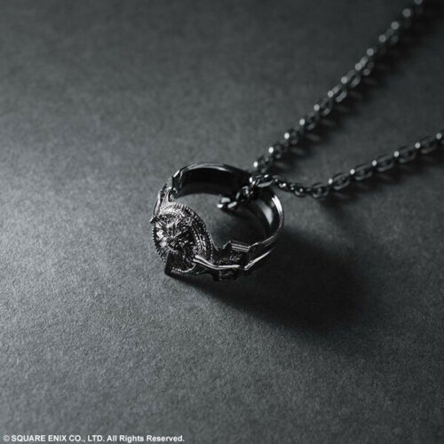 FINAL FANTASY XV Silver Pendant Ring of Light SQUARE ENIX Official Shop Limited
