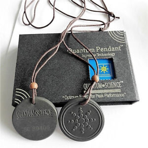 Quantum pendant ebay quantum scalar energy pendant negative ions emf protection authenticity card mozeypictures Choice Image