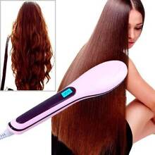 Brand New Hot Electric Hair Straightener Comb LCD Iron Brush Auto Oakleigh East Monash Area Preview