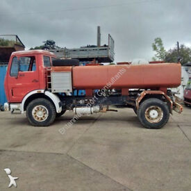 Left hand drive Mercedes Benz 1613 6 cylinder 7000 litres WATER tanker. On big axles.