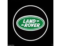 2 x LAND ROVER RANGE ROVER 3D COB LED DOOR LOGO COURTESY LIGHT LASER GHOST PROJECTOR SHADOW PUDDLE L